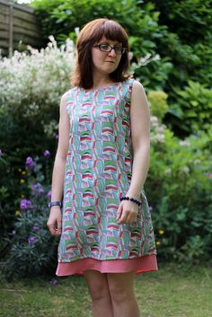Lou Lou Dress Sewing Pattern Version A by English Girl at Home