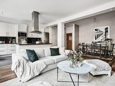Best Home Decorating Websites Key: 4841006016 Dream Apartment, Apartment Kitchen, Gray Interior, Interior Design, Open Plan Kitchen Living Room, Kitchen Corner, Stylish Kitchen, Decoration, Loft