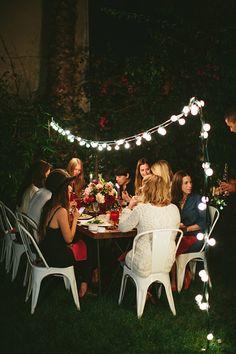 Fall Dinner Party, Al Fresco