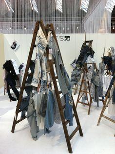 """Modefabriek, Amsterdam, Holland, """"Ladders Only"""", pinned by Ton van der Veer"""