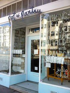 Poppytalk - Le beau, le pourri et le fait à la main: San Francisco Tour Shop :: Pot + Pantry