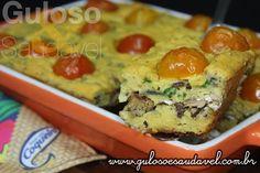 Temos um #jantar fácil, econômico e delicioso, a dica é a Torta de Sardinha Sem Glúten, sem lactose!  #Receita aqui: http://www.gulosoesaudavel.com.br/2015/08/19/torta-sardinha-sem-gluten/