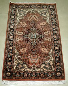 Traditional Oriental Medallion Area Rug Persian Style Carpet Runner Mat Size3'x5 #Unbranded #carpet Mats, Wool Carpet, Rugs On Carpet, Carpet Runner, Home Decor, Rugs, Style Carpet, Oriental, Bohemian Rug