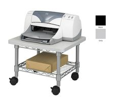 Safco Under-desk Printer/Fax Steel Frame/Laminate Top Stand/Cart - Overstock™ Shopping - The Best Prices on Safco Stands & Carts