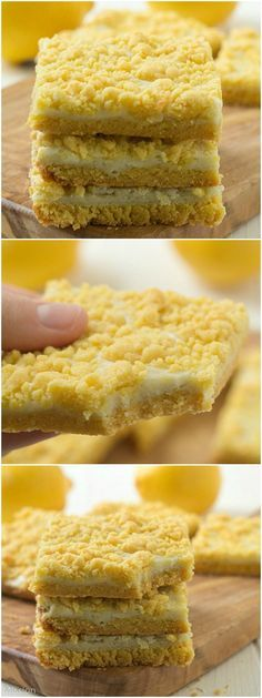 Lemon cream cheese bars: Moist lemon bars with cake mix are the perfect easy lemon bars. Add these cream cheese bars with cake mix as sweet end to a wonderful meal.