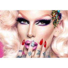 Drag Makeup, Beauty Makeup, Eye Makeup, Jeffree Star Instagram, Jeffree Star Tattoos, Jeffry Star, Beauty Killer, Artists And Models, Star Nails