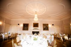 Type of venue I want - see rest of copy for credits. Brooksby Hall real wedding with images by Lumiere Photography (2)