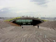 Foreign Office Architects - Yokohama International Port Terminal :: arcspace.com