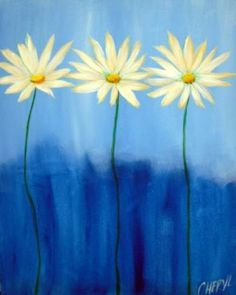 Paint And Sip on Pinterest   Wine And Canvas, Easy Acrylic ...