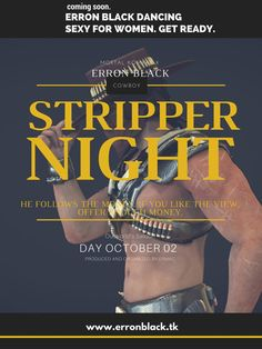 Invitation Erron Black Stripper Show by hentaimortalkombat.deviantart.com on @DeviantArt