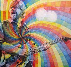 trey with the rainbow swirl of jedi