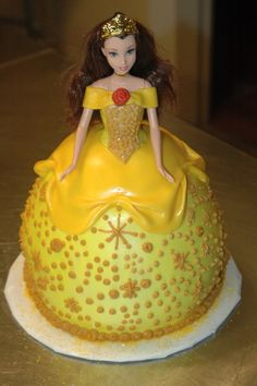 Another Belle Disney Princess cake remember having one for my 6 birthday party :)