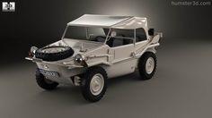 360 view of Volkswagen Type 166 Schwimmwagen 1942 3D model - Humster3D store