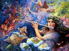 Josephine Wall Fantasy art painting - Maykool Fashion Blog