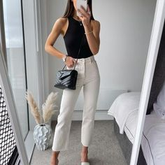 Basic Outfits, Trendy Outfits, Cool Outfits, Fashion Outfits, Womens Fashion, Cute Spring Outfits, Fairytale Dress, Elegantes Outfit, Work Attire
