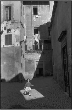 Magnum Photos -   Henri Cartier-Bresson View profile ITALY. Rome. 1959.