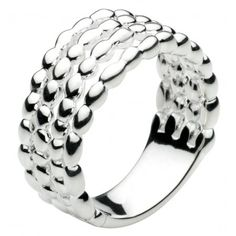 Fabulous funky sterling silver ring