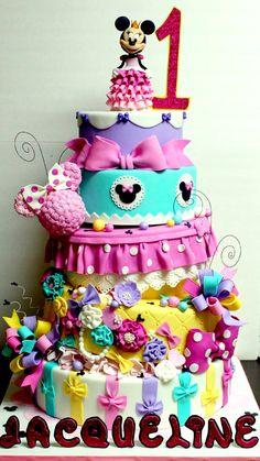 Princess Minnie Cake