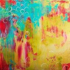"""Begin Again, 30"""" x 30"""", acrylic on canvas, $750.00"""