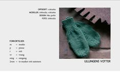 Gratis oppskrift på barnehagevotter — Strikkezilla Design Knitting For Kids, Baby Knitting Patterns, Big Knits, Arm Warmers, Mittens, Ravelry, Diy And Crafts, Knit Crochet, Quilts