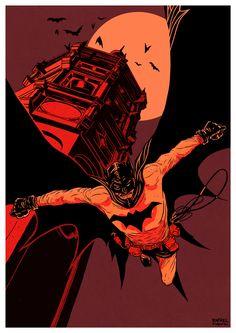 #batman by Rafael T. Pimentel