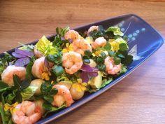 Sommersalat med Rejer, nye kartofler og Avocado | Kreamors Køkken