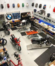 Paradise Garage, Motorcycle Garage, Shop, Store