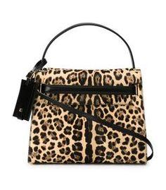ShopBazaar Valentino Leopard 'My Rockstud' Tote MAIN