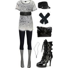 """Lost Girl Fashion - Kenzi 3"" by ladysprinkles on Polyvore"
