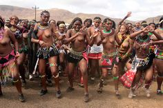 south africa - zulu reed dance ceremony by Retlaw Snellac Photography