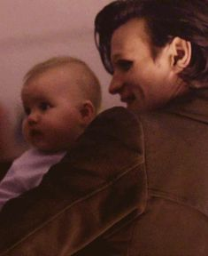Matt Smith and Stormageddon (gif) ADORABLE! Matt Smith with a baby... Your argument is invalid