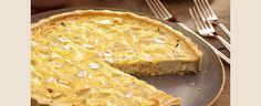 Quiche de Frango com Queijo Brie