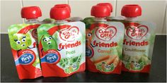 Two Monsters and Me: Cow and Gate veggie pouches #Review