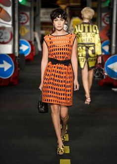 20 Looks with Fashion Designer Moschino glamhere.com Moschino SpringSummer 2016