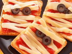 Spooky Halloween savoury party food