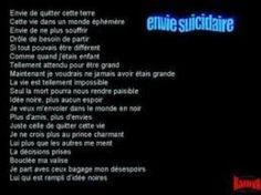 Envie suicidaire ... ☠