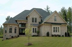 House Plan 68467 | European   Traditional    Plan with 3397 Sq. Ft., 4 Bedrooms, 5 Bathrooms, 3 Car Garage