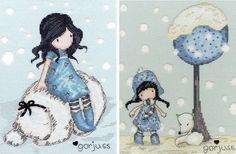 This money-saving set includes two of the kits from the best selling Gorjuss collection. The Winter Friend design features Gorjuss and a big cuddly polar bear. The Fox Gloves kit features the two again amongst a field of snow, two lovely wintry kits that will keep you occupied in the cold, winter nights.