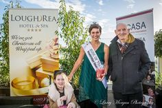 Rose of Tralee Winner Maria Walsh helps launch CASA Christmas Swim at the Lough Rea Hotel rooftop garden Sunday, December Maria is pictured at the launch with CASA members Tierney Burke and Jimmy Rooftop Garden, Product Launch, Swimming, Rose, Christmas, Navidad, Roses, Weihnachten, Noel