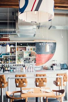 thouswell:  Swanky restaurant scene.