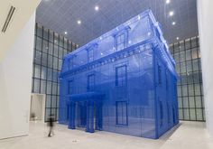Artist Do Ho Suh Compares His Previous Homes By Creating 1:1 Silk Replicas, One Inside the Other | SCULPTURES | Scoop.it