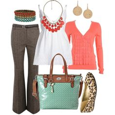 Casual and Chic Work Outfits