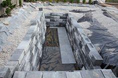 Build your own swim pond. Step by step photos