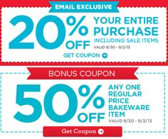 Michael's: 20% Off Entire Purchase 8/30-9/2 - http://www.dealiciousmom.com/michaels-coupon-2/
