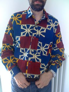 Here is another Xavier's shirt: this time african allure...