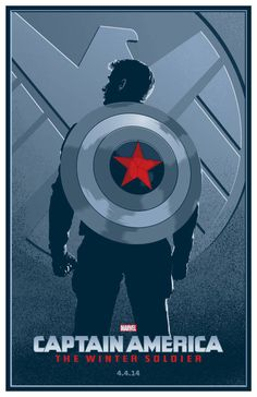 Marvel Drawing Captain America: The Winter Soldier - movie poster - Toby Gerber - Marvel Comics, Hq Marvel, Marvel Heroes, Marvel Characters, Marvel Cinematic, Capitan America Marvel, Capitan America Chris Evans, Marvel Captain America, The Avengers