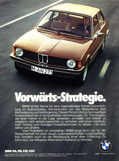Sehr aufschlussreich - BMW 3er (1976) E21 Vorwärts-Strategie by H2O74, via Flickr #vintagecars #karre
