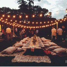 46 Cozy Backyard Wedding Decor Ideas For Summer - Wedding . # backyard Weddings 46 Cozy Backyard Wedding Decor Ideas For Summer - Wedding . Boho Wedding, Dream Wedding, Wedding Ideas, Trendy Wedding, Party Wedding, Rustic Wedding, Wedding Summer, Wedding Seating, Casual Wedding Reception