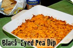 Black-Eyed Pea Dip Recipe Appetizers with black-eyed peas, onions ...