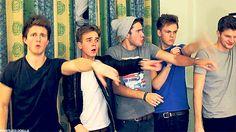 Youtube boyband The beginning of it all :)  #Youtubers Joe, Jim, Casper, Alfie, Marcus